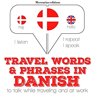 Travel words and phrases in Danish cover art