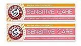 Arm & Marteau Sensible Soin Bicarbonate De Soude Dentifrice Doux Nettoyage En...