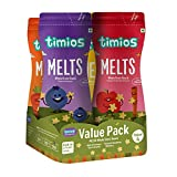 Timios Melts Mix Value Pack | Healthy & Natural Baby Finger Food Products for 9+ Months | Apple &...