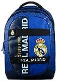 Real Madrid Sac à Dos Mixte Enfant, Bleu