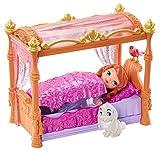 Mattel Disney's Sofia die Erste Y6648 - Sofia und königliches Bett, Puppe und Zubehör