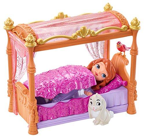 Disney Princesas Sofía y su Cama de Princesa (Mattel Y6648)