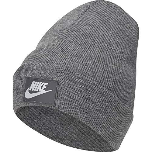 Nike Herren Cuffed FUT Flash Mütze, Charcoal Heathr, One Size