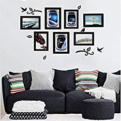 Elevin(TM)  DIY Picture Frame Removable Wall Decal Family Home Sticker Mural Art Home Decor