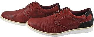 Sapato Oxford Masculino em Couro e Detalhe Nobuck Moderno