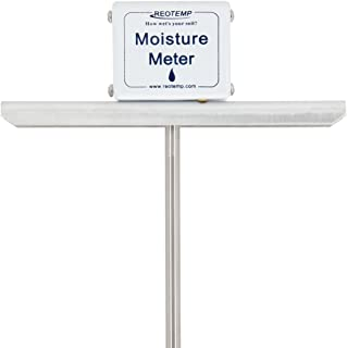 REOTEMP Garden and Compost Moisture Meter (24 Inch Stem), Garden Tool Ideal for Soil,..