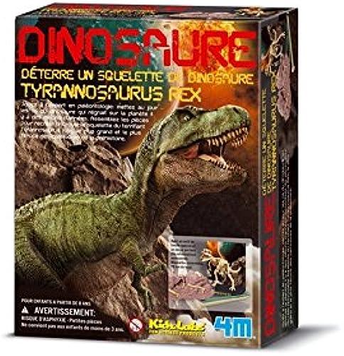 ahorra hasta un 70% Dam - 4M - 5603221 - Construction et Maquette - - - Animaux - Kidzlabs - deterre-Ton-Dinosaure - Tyrannosaurus Rex by 4M  mejor opcion