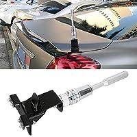 アンテナ カーアンテナ PS-401変更された車のアンテナ空中、サイズ:24.5cmx7.3cm(ブラック) (Color : Silver)