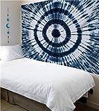 mengtianfushi234 200 * 150 cm Gradient Mandala Tapestry Wall Hanging Hippie Psychedelic Wall Tapestry Elephant Dorm Boho Decor Wall Cloth Tapestries-200X150CM