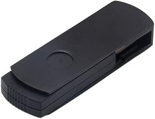 1st market 8GB USBメモリスティックつや消し金属ケーシングUSBフラッシュドライブUSB 2.0メモリスティックスイベルデザインサムドライブモバイルデータベース-ブラックスタイリッシュで人気