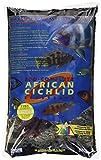 CaribSea Aquatics Eco-Complete African Cichlid Zack Sand, 20-Pound, Black