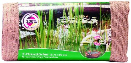 Heissner EISSNER TZ110-00 Pflanztuch 75 x 80 cm, 5 Tücher