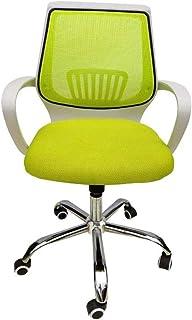 LMDC Silla de Oficina, sillas de Escritorio de Ordenador for casa de habitación de Oficina con Brazos ergonómico Soporte Lumbar Silla de Trabajo cómodo de Malla