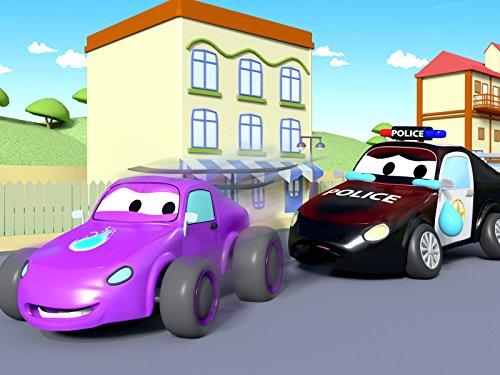 Carl der Transformer   Matt das Polizeiauto