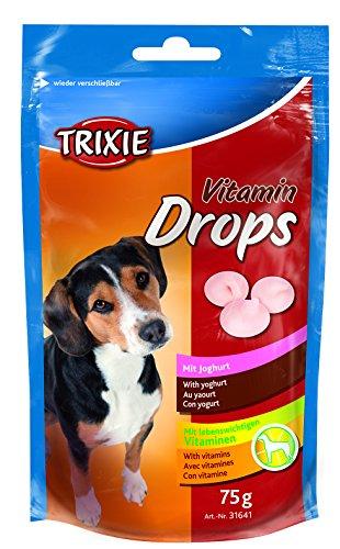 Trixie Drops Vitaminados, Yogur, 75 g