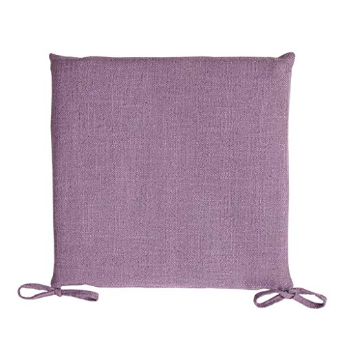 YUESFZ Chair Pads Fashionable Cotton And Linen Sofa Cushions, 4cm Thick Dining Chair Cushion For Living Room, Bay Window Warm Coffee Table Futon (Color : J, Size : 40cm*8)