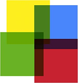 Hygloss Products, Inc Primary Colors 48 Cello Squares, 12 x 12