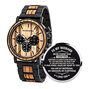 1.BOBO BIRD Customized engraved wooden watch is very special watch. Lightweight and very Comfortable on the wrist. 2.Special Customized Engraved design wooden watch. Imported Japan quartz movement to guarantee Energy Saving,Ultra-quiet and Long-Life ...