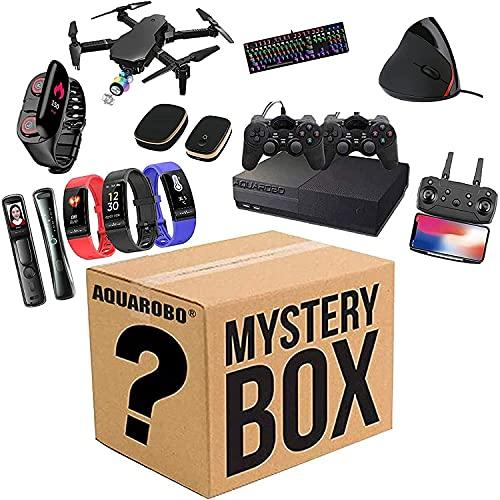 FEZD Artículos De Misterio: Todo Tipo De Regalos Misteriosos, Drones, Automóviles De Control Remoto, Pulseras Inteligentes, Conjuntos De Mouse Y Teclado, Todo Es Posible (Al Azar)
