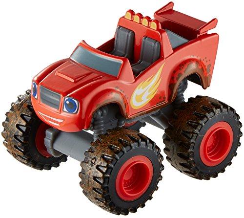 Fisher-Price Blaze et Les Monstres Machines Die Cast Vehicle - Mud Racin' Blaze