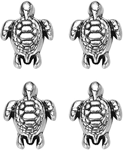 160 pcs Antique Silver Lovely Turtle Virginia Beach Sale price Mall Fit Bead Pendant Original C