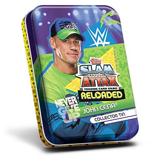 Topps SA13-MT3 WWE Slam Attax, 1 Lata, modelos surtidos