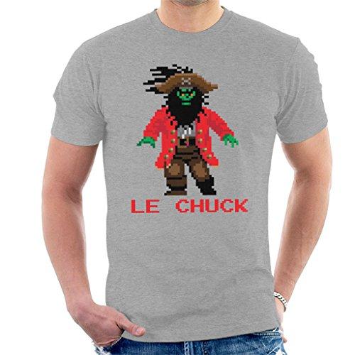 LeChuck Pixel Character Monkey Island Men's T-Shirt