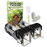 New Set 2 Pack Humane Mousetraps Reusable Washable Traps for Mouse and Rat