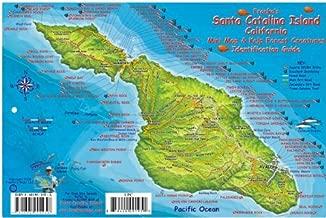 Santa Catalina Island Dive Map & Kelp Forest Creatures Guide Franko Maps Laminated Fish Card