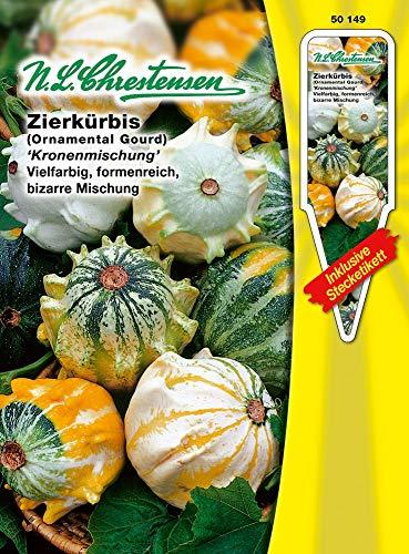 N.L. Chrestensen 50149 Zierkürbis Kronenmix (Zierkürbissamen)