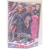 2008 Barbie for President Fashion Doll Blonde