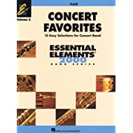 Hal Leonard Concert Favorites Volume 2 Flute Essential Elements Band Series