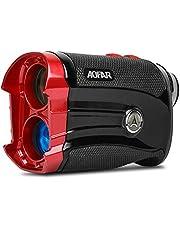 AOFAR GX-2S Golf afstandsmeter met helling, 600 meter, zwart, hellingsschakelaar, gratis batterij, gift packaging, golfafstandsmeter.