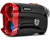 AOFAR GX-2S Golf Rangefinder Slope on/Off, Flag-Lock with Vibration, 600 Yards Range Finder, 6X 25mm Waterproof, Carrying Case, Free Battery, Gift Packaging