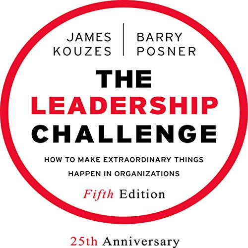 The Leadership Challenge audiobook cover art