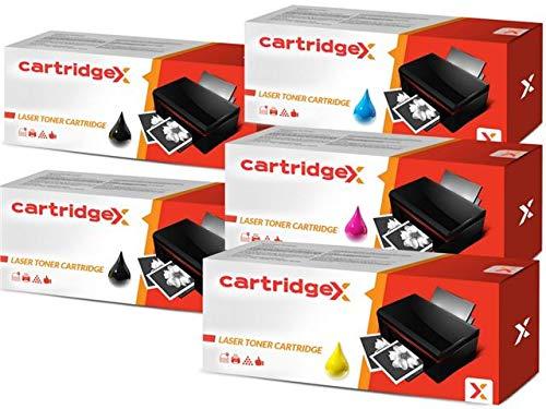 Cartucho de tóner compatible con Samsung Xpress SL-C1860FW CLP-415N (5 unidades)