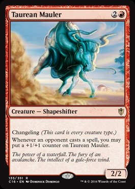 Magic The Gathering - Taurean Mauler (135/351) - Commander 2016