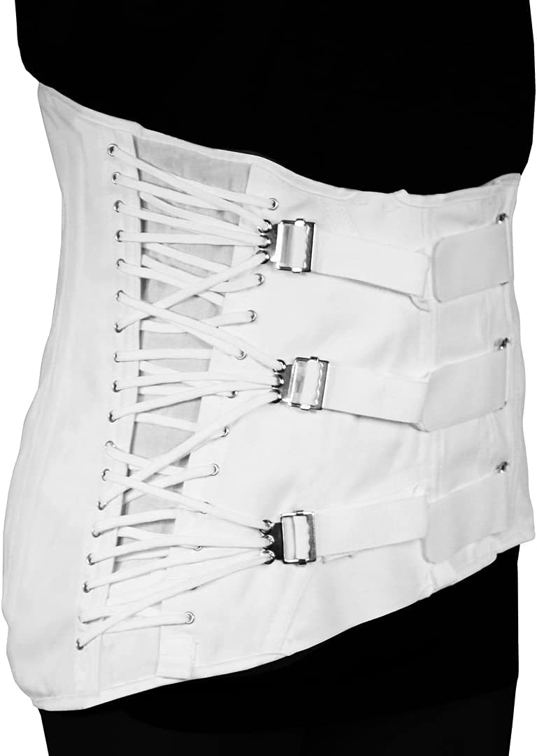 Women's Lumbosacral Now on sale Support National uniform free shipping Spinal Disc 3-Pull Brace Sid Rehab