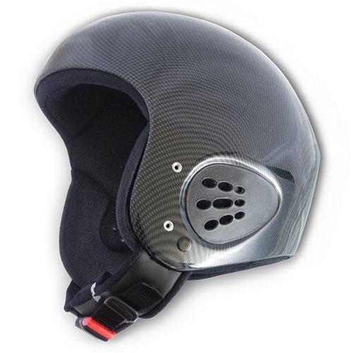 Finsterwalder GmbH Charly AIR Control Gleitschirmhelm/Skihelm/Snowboardhelm, Carbon Look, Gr. S