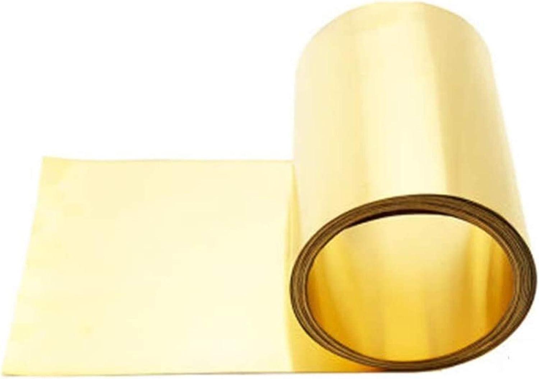 SoGuDio 2021 autumn and winter new Copper Sheet Metal Max 41% OFF Brass Cu Plate Copp Foil Strip