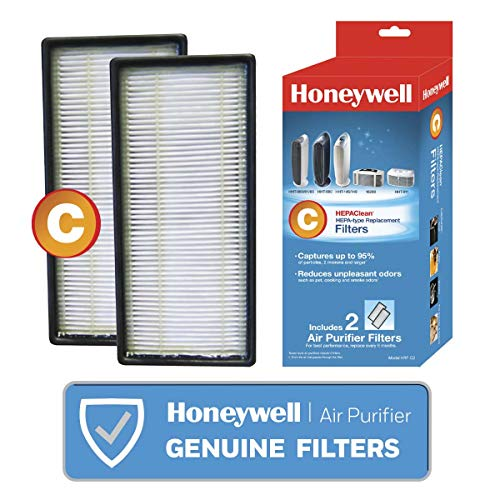 Honeywell HEPAClean Air Purifier Replacement Filter 2 Pack, HRF-C2/Filter (C)