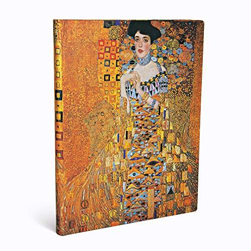 Paperblanks Diari a Copertina Rigida Centenario di Klimt – Ritratto di Adele   Righe   Ultra (180 × 230 mm)