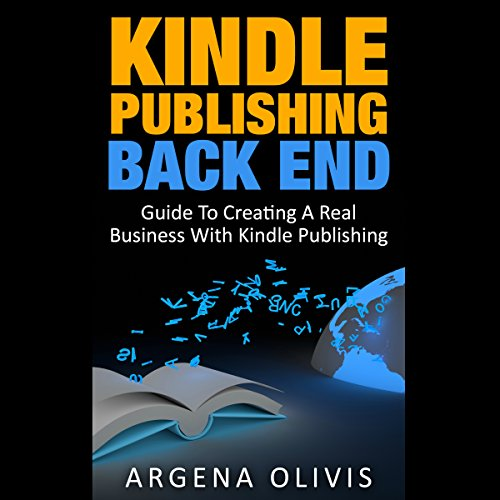 Kindle Publishing Back End audiobook cover art
