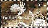RFA (FR.Allemagne) mer.-no.: 2578 (complète.Edition.) 2007 Handball (Timbres pour Les collectionneurs) Jeux de Ballon sans Football