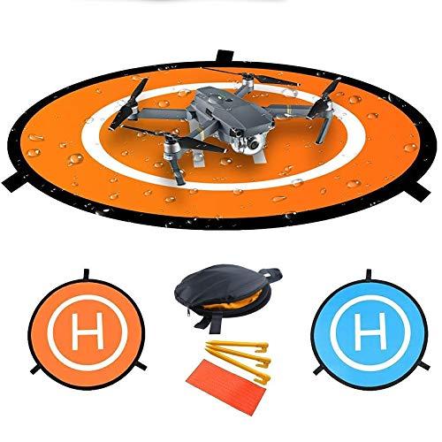 Fstop Labs Drone y Quadcopter Landing Pad Inch(80Cm) 32 RC avión Aterrizaje Suave Superficie del Engranaje Hechos de Goma Impermeable Respetuoso del Medio Ambiente Estilo 1