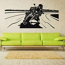 Wall Vinyl Sticker Decals Decor Art Bedroom Design Motocross Motorcycle Moto Gp Bike Motorbike (Z672)