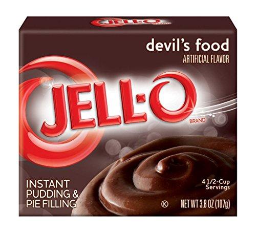 Jell-O Devils Food Puddingpulver und Kuchenfüllung 107 g
