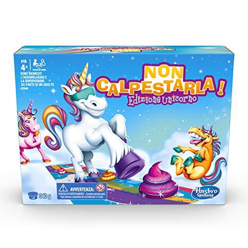 Hasbro Gaming Non Calpestarla! Edizione Unicorno, Multicolore, E2645457