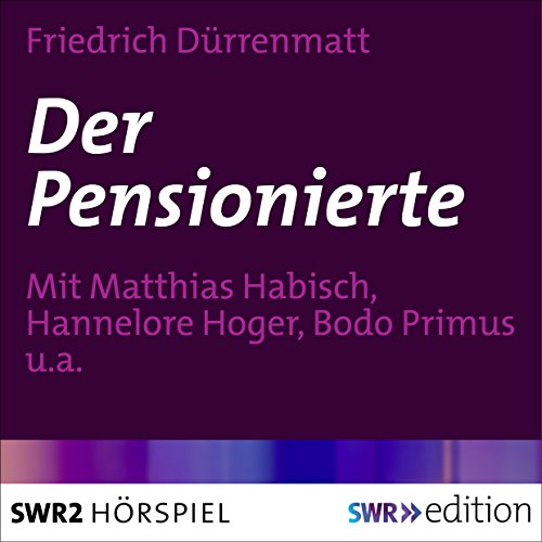 Der Pensionierte audiobook cover art