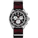 TAG Heuer Reloj de Hombre Cuarzo Suizo Correa de Nylon CAZ101E.FC8228